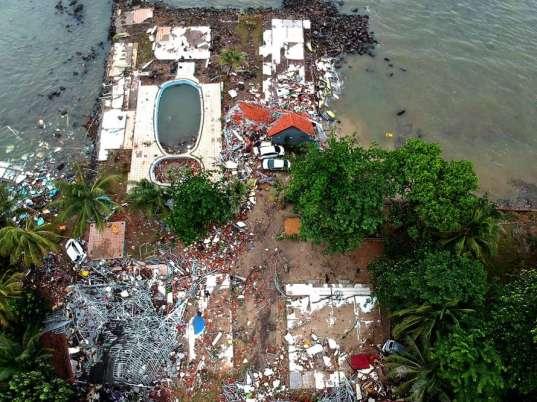 Un nouveau Tsunami touche L'indonésie et les iles de Java et Sumatra