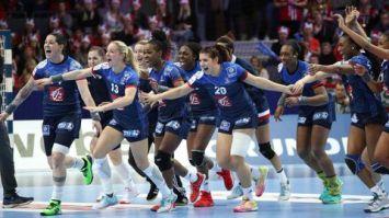 Léquipe de France féminie de Hand est Championne d'Europe en battant la Russie