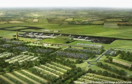 Le projet de l'aéroport de Notre Dame de Landes est abandonné.