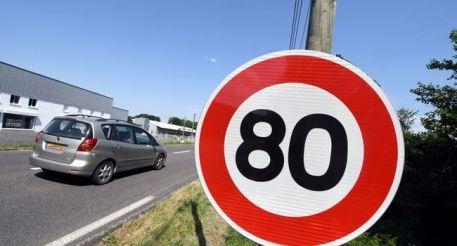 La vitesse Maximum sur les routes secondaire passe à 80 Km/h