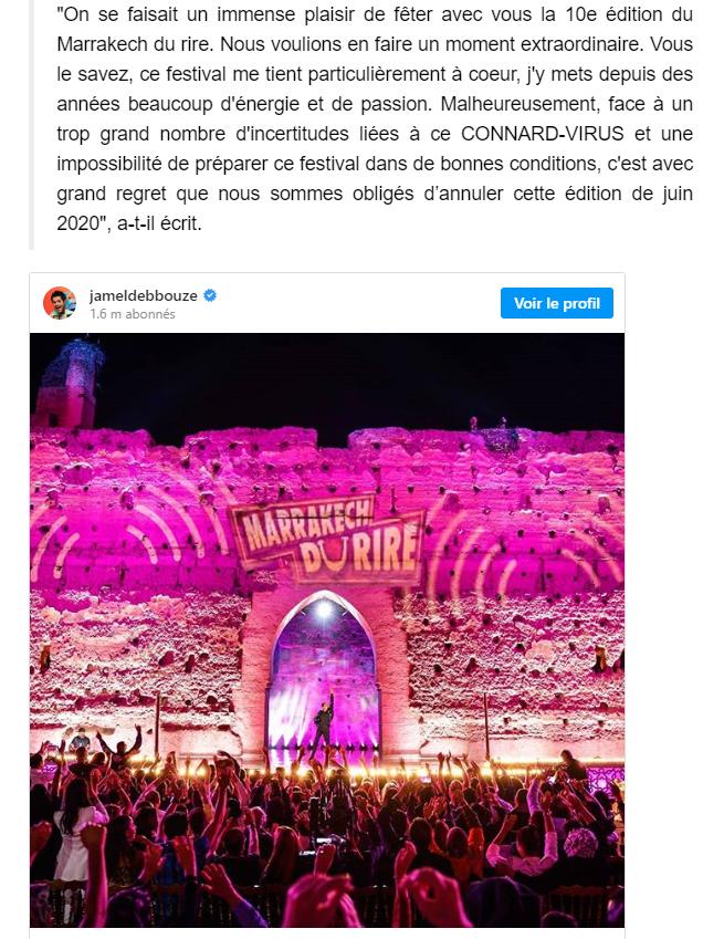 2020-04-16 15_30_07-Jamel Debbouze annonce l'annulation du Marrakech du rire 2020