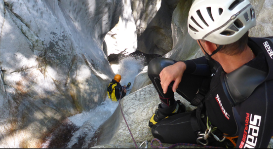 Parc aventure canyoning